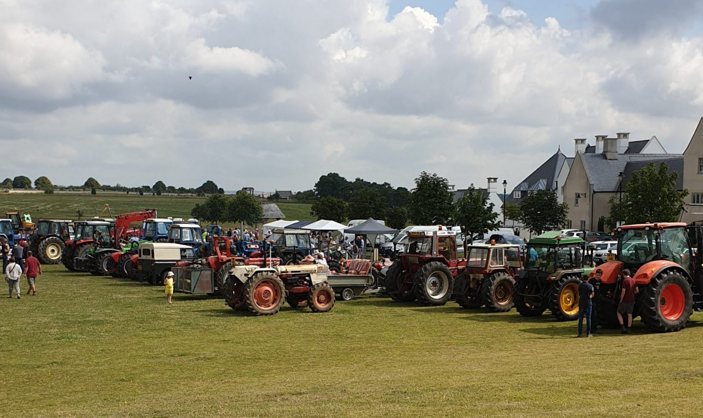 80+ Tractors Attended Rays Tractor Run
