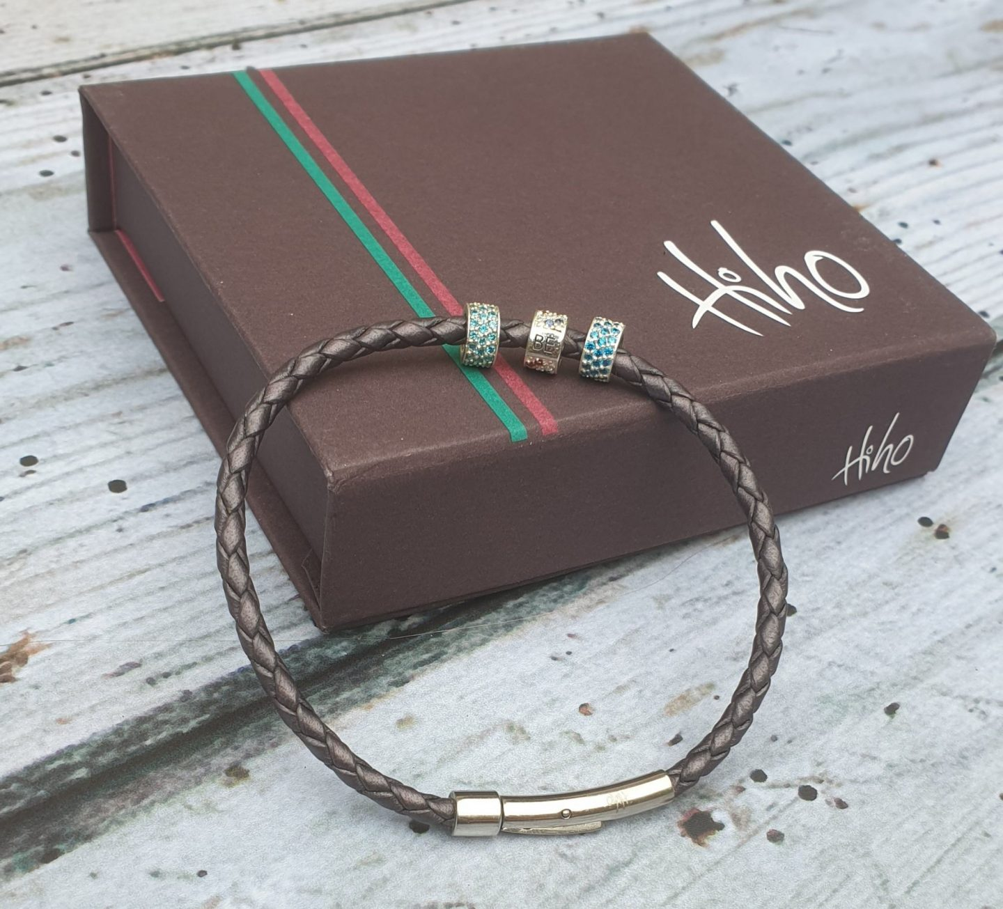 Hiho Silver BE roller bead