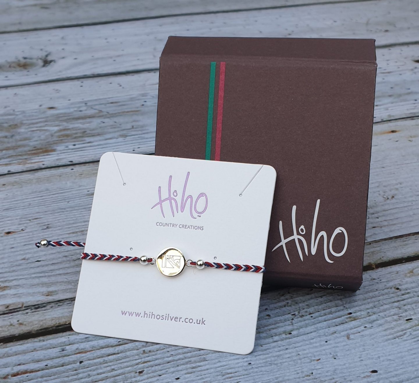 British Eventing Hiho Silver Friendship Bracelet