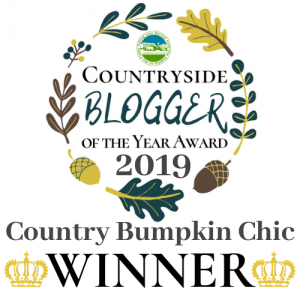 Countryside Blogger of the Year Award 2019