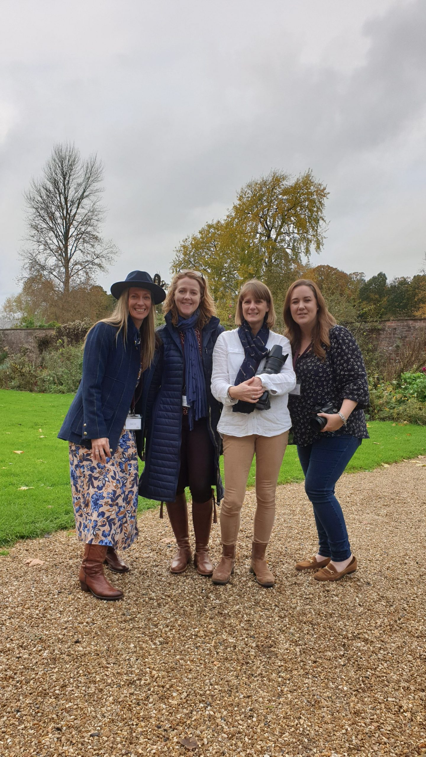 Becky, Ruth Chappell, Rachel Bragg and Sophie Callahan