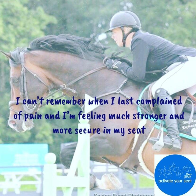 Show jumper Kelly Connor - Testimonial