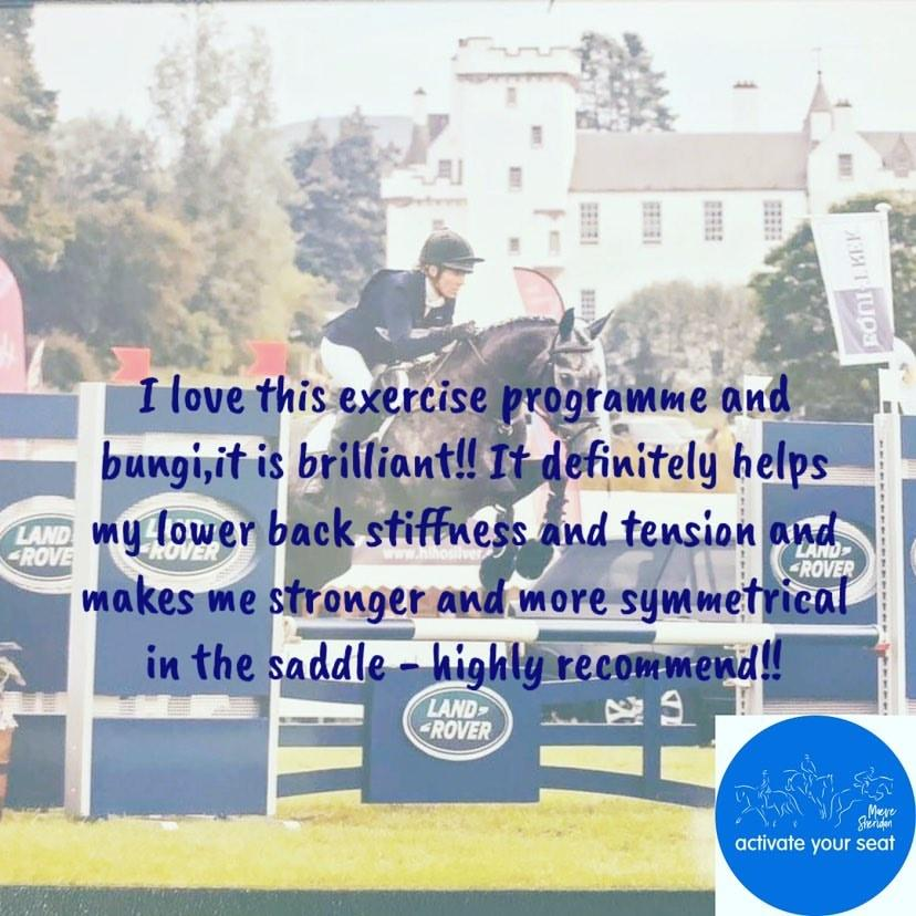 Sarah Chambers Amateur Eventer at Blair Castle - Testimonial