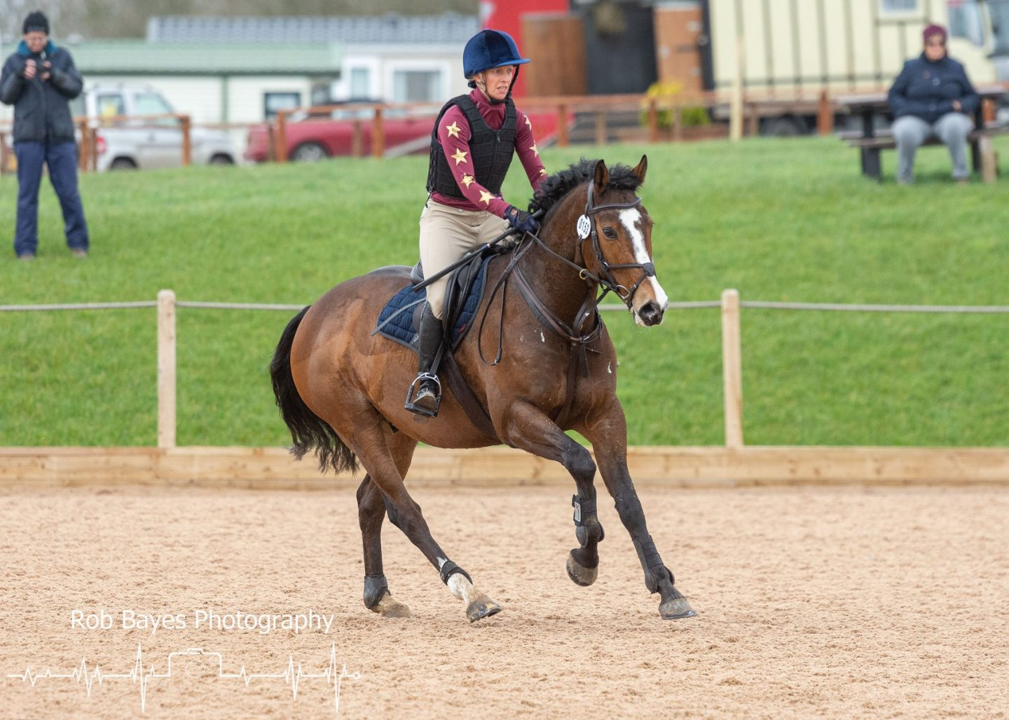 Leo competing at Chard Express Eventing. Photo by Rob Bayes Photography