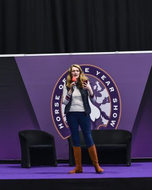 Rhea Freeman at HOYS - Photo by Martha Lily Photography