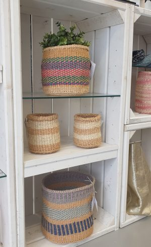 The Basket Room woven baskets