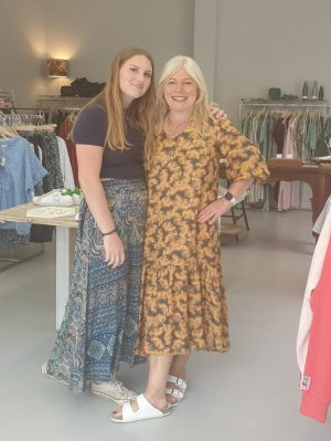 Founder Vicki Fernyhough and daughter Pia